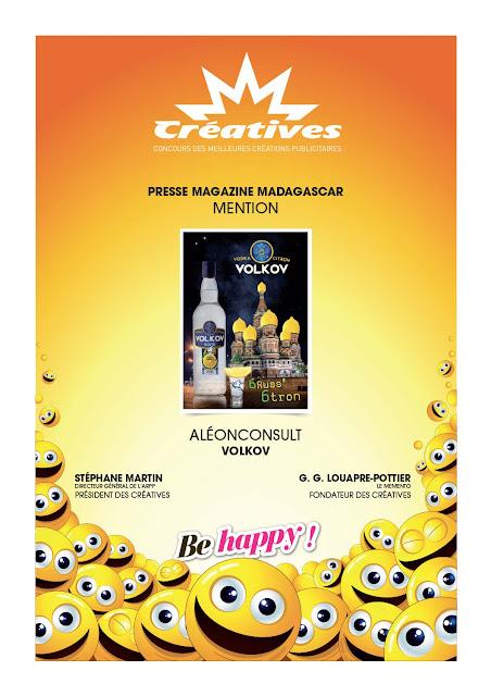 Créatives 2016 : concours des meilleures créations publicitaires, Affiche Volkov