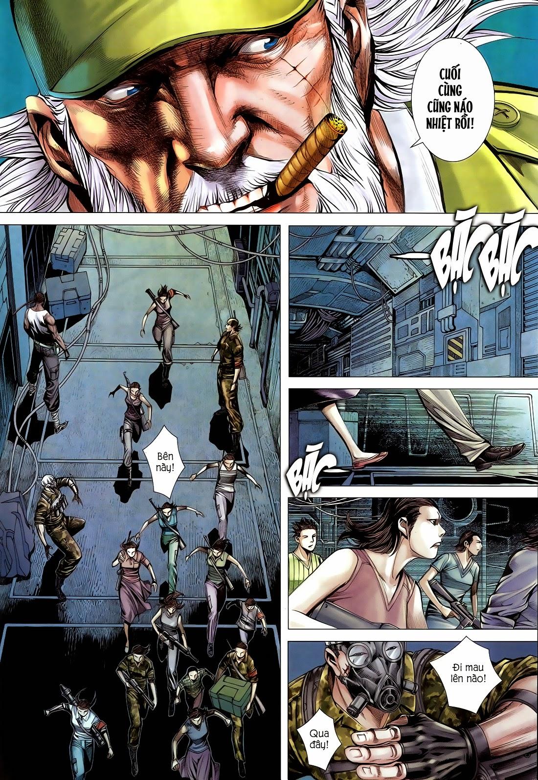 Đại Quân Phiệt chap 14 trang 26