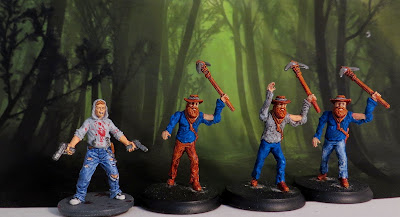 Shadows, Brimstone, Zombies, Hungry, Dead, painted