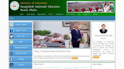 SSC result 2017 Madrasah Board