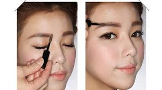 Bentuk Alis Untuk Wajah Bulat Mata Sipit