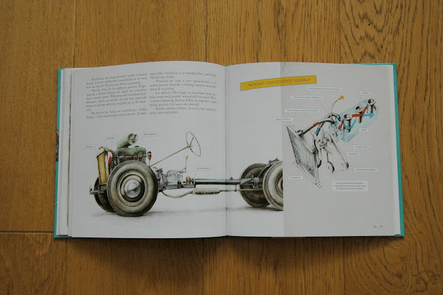 książka dla dzieci o budowie auta książki dla dzieci wydawnictwa prószyński i spółka jak zbudować samochód martin sodomka