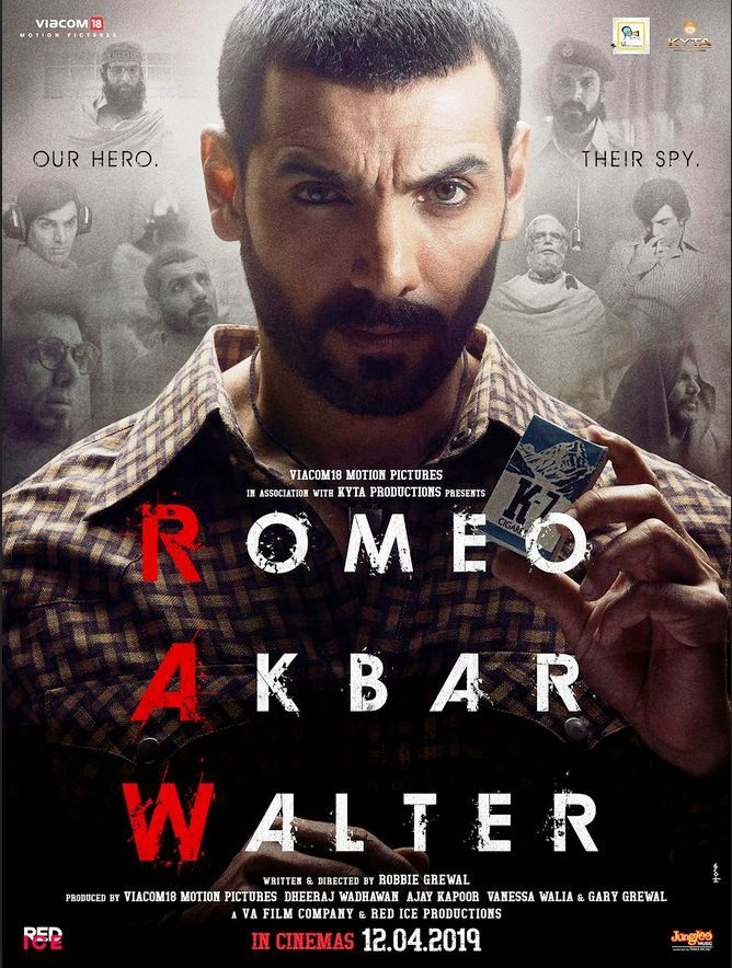 Romeo Akbar Walter (2019) Hindi 1080p HDRip 1GB Download