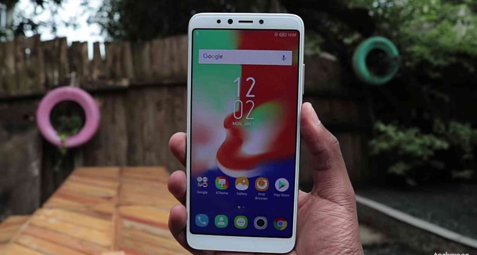 Full View Display of the Infinix Hot 6 Pro