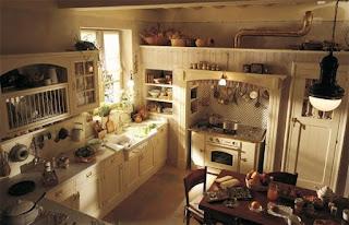 cocina estilo country