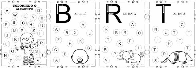 Caderno de Atividades Colorindo o Alfabeto