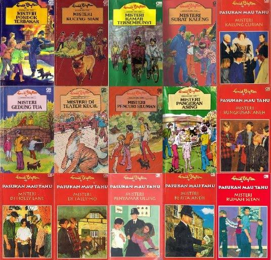 Ebook Enid Blyton Pasukan Mau Tahu