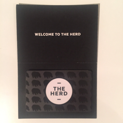 How To Access the Fat Hippo's Secret Menu | Join The Herd -  the Fat Hippo's NEW Loyalty Card - black loyalty card