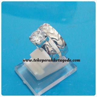 cincin kawin couple perak ,wedding ring