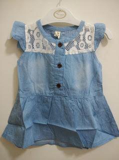 Dress Anak DRS0013 Jeans