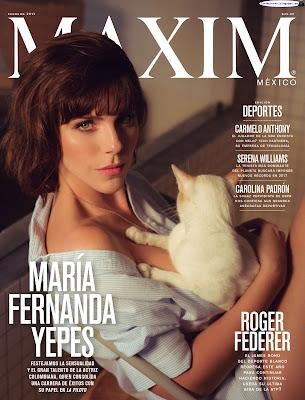 Maria Fernanda Yepes - Maxim Mexico 2017 Febrero (30 Fotos HQ)
