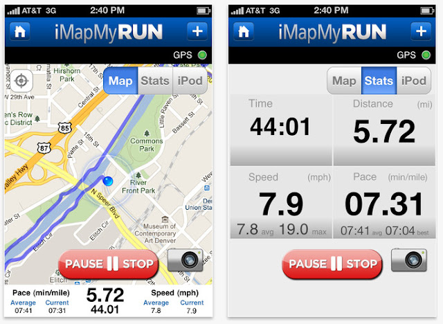 Map+myRun Run Roxy Run: my favourite running iPhone apps!