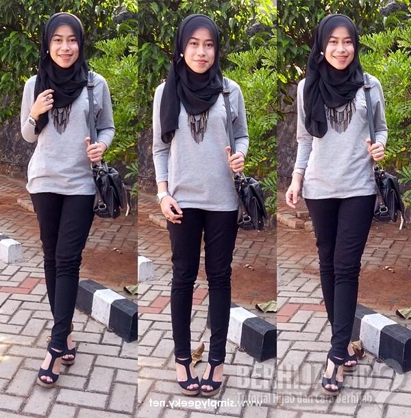 Style Hijab Simple Remaja 2016 Tutorial Hijab Dan Cara