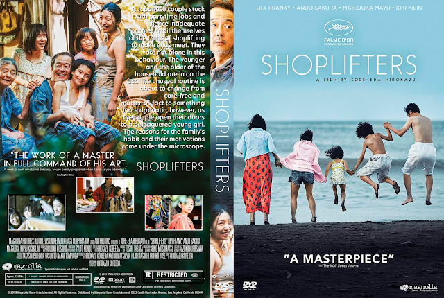 Shoplifters DVD Cover