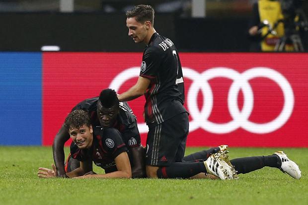 AC Milan vs Borusia Dortmund