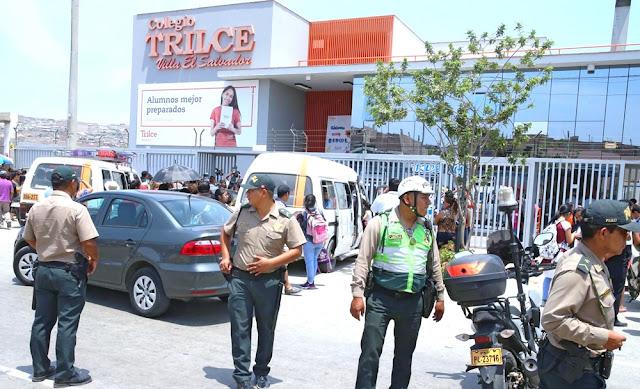 Un escolar muerto por disparo en accidente en Trilce