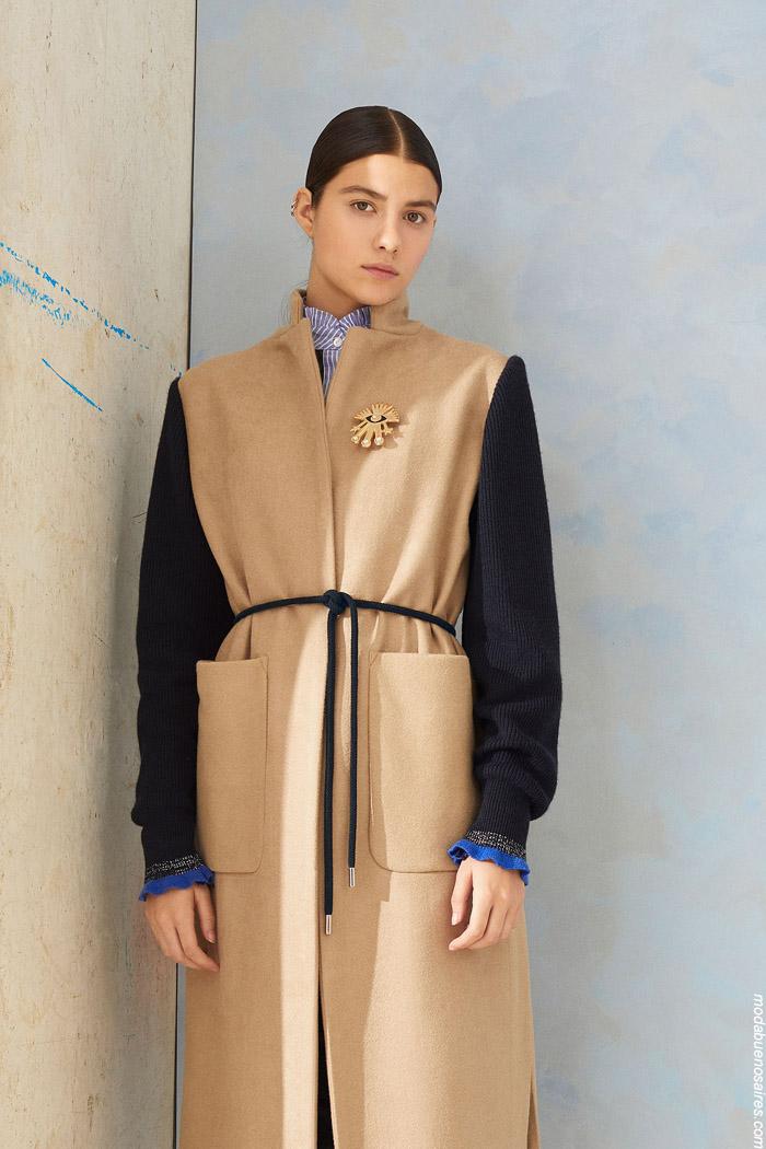 Tapados invierno 2019 moda mujer. Ropa de moda 2019.