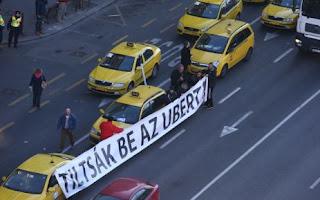 Uber alkalmazás okostelefonra Magyarország