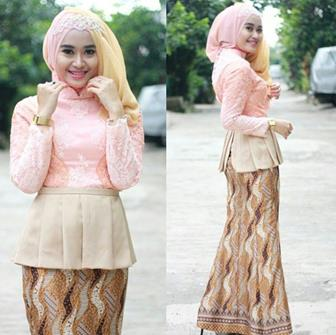 Model Kebaya Muslim Berhijab