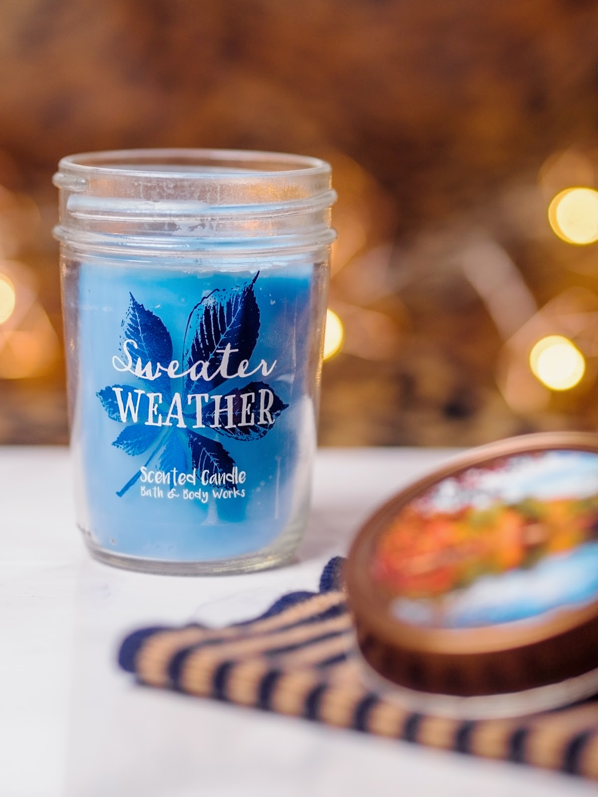 scent diaries bath body works sweater weather