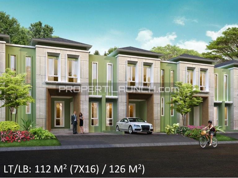 Rumah Cluster Leora Alam Sutera Tipe 7x16
