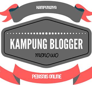 Kampung Blogger Desa Menowo Magelang, Pelopor Blogger Newbie dimana-mana.