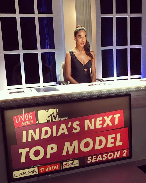 Lisa Haydon India's Next Top Model