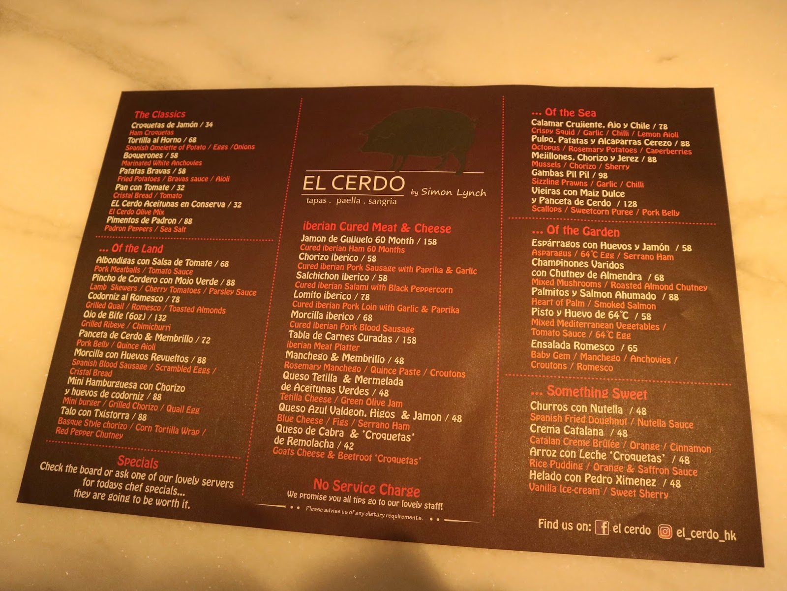 Cars, Food and the Ladies of Hong Kong & Macau: El Cerdo [Hong Kong ...