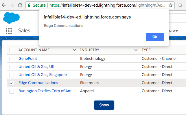 Infallible Techie: How to handle selectedRows in lightning
