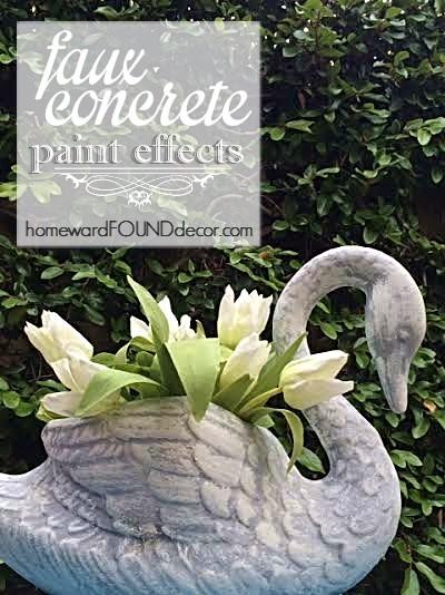 faux concrete paint tutorial