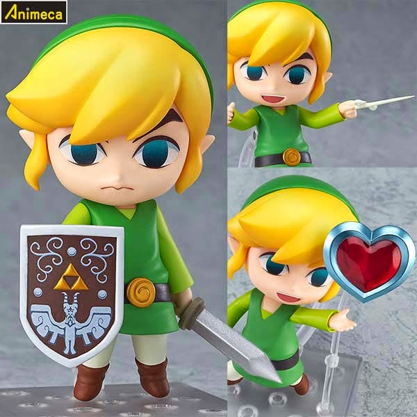 LINK The Wind Waker Ver. NENDOROID FIGURE The Legend of Zelda The Wind Waker HD GOOD SMILE COMPANY