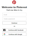 Pinterest Login: How Do I Pinterest Log in with Facebook Account