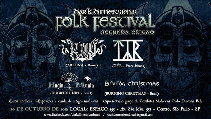 Dark Dimensions Folk Festival II: 06 trabalhos para ouvir antes dos Shows