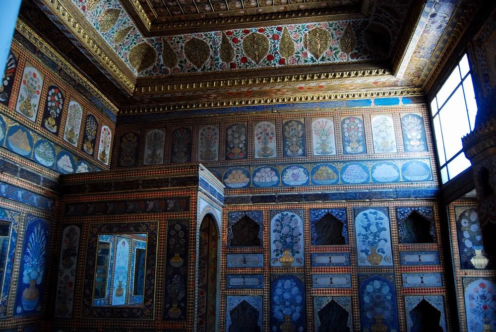 chambre privée d'Ahmet III, dite aussi « salle aux fruits »