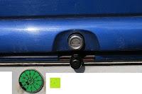 Kamera eingebaut: AUTO VOX M1 Auto Rückfahrkamera mit Monitor 4.3'' TFT LCD Rückansicht Bildschirm mit IP68 wasserdichte Kamera für Einparkhilfe&Rückfahrhilfe, einfache Installation für die meisten Automodell