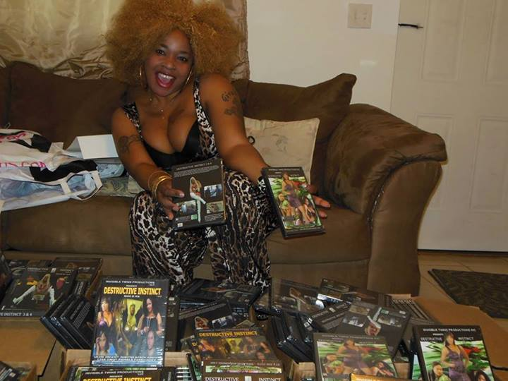 Nigerian Porn Star, Afrocandy Launches Her New Movies In -8141