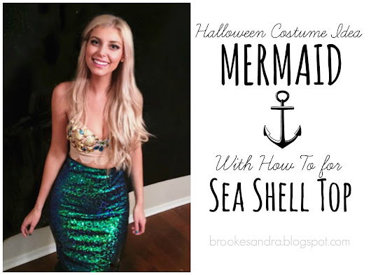 Mermaid Costume Seashell Top How To