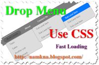 Menu xổ dọc nhiều cấp sử dụng CSS3 - http://namkna.blogspot.com/