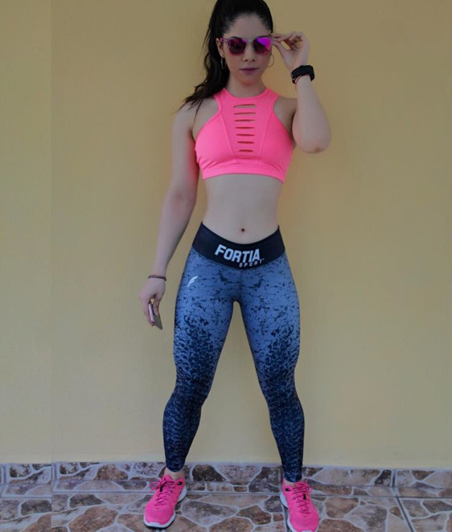 Lee Brise, the new girl fitness Instagram