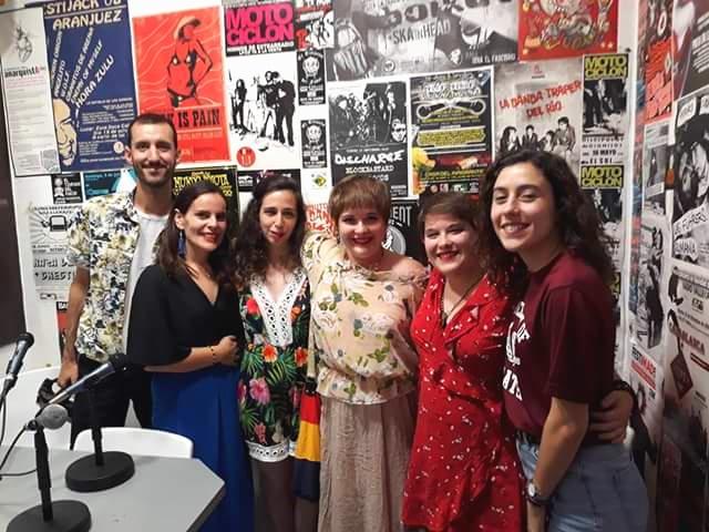 Entrevista No Kahlo na Rádio Vallekas (Madrid)
