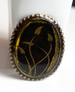 Resin Pin/Brooch - Past Projects