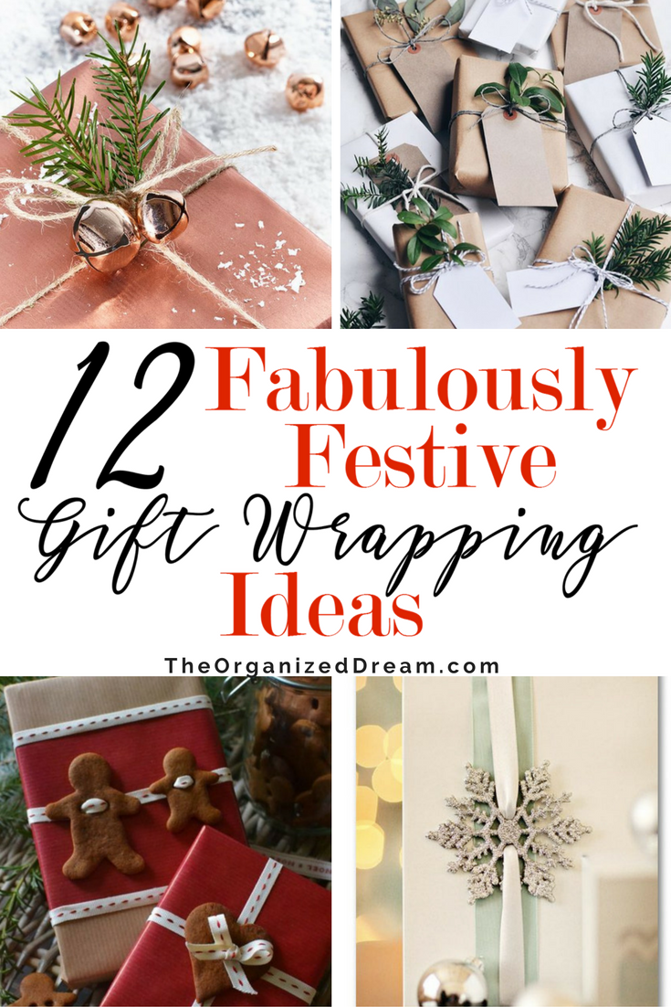 Amazing Christmas Gift Wrap Ideas // 12 Days Of Christmas