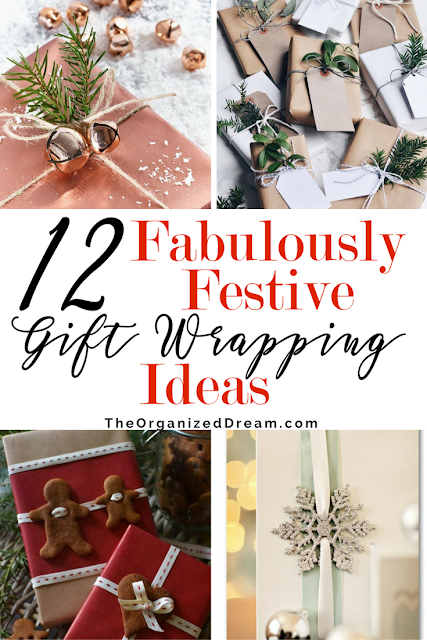 12 of the most creative gift wrap ideas on the web! Join us for inspiration for decorative touches on all your present wrapping for the season!