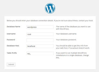 wordpress-setup-database-details