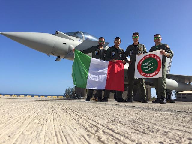 A NEW RECORD FOR ITALIAN EUROFIGHTER