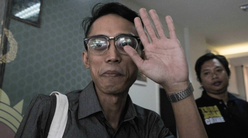 Ario Kiswinar di Polda Metro Jaya