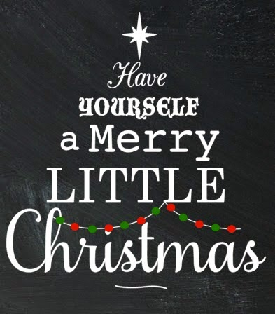 Silhouette Studio, free cut file, have yourself a merry little christmas