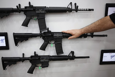 """Broward  County, Florida Wednesday implemented a new policy that'll permit deputies to be armed with AR-15 rifles on school grounds.   This """"policy"""" was implemented in a bid to increase security at schools following the recent Marjory Stoneman Douglas High School shootings, Parkland, Florida.  GUN-OWNERS DESTROY RIFLES, TURN FIREARMS OVER TO THE AUTHORITY IN THE WAKE OF THE HEARTLESS FLORIDA SCHOOL MASSACRE  Sheriff Scott Israel who made the announcement labeled the cold-blooded, Nikolas Cruz, """"Pure evil"""" when quizzed by a reporter for motive(s).        Nikolas  Cruz, 19, was arrested in a residential neighborhood near his former high school after the shooting. He has since been charged with 17 counts of premeditated murder and is being held in a Broward County jail.    DSCUS"""