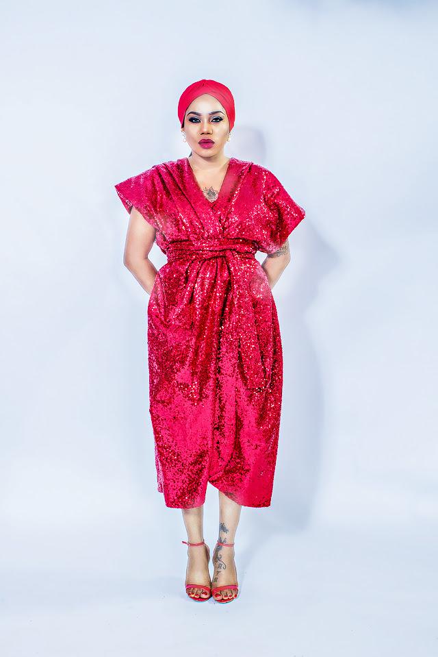 Toyin Lawani Nigeria Next Top Desinger
