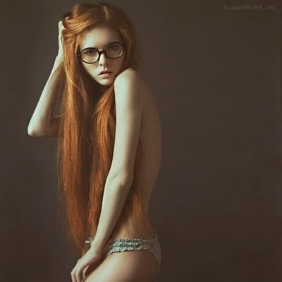 Redhead Teen With Glasses 5